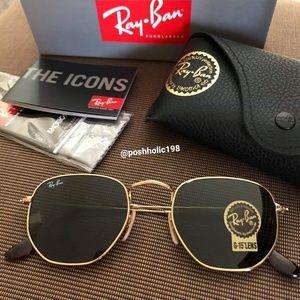 🍓NEW Ray-ban Hexagonal classic sunglasses